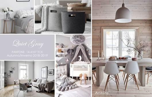 Quiet Gray colori autunno 2018